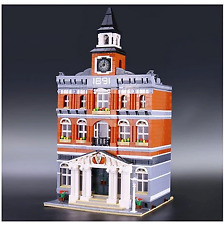 New Town Hall Lego Set, Building