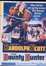 BOUNTY HUNTER, THE -  RANDOLPH SCOTT ALL REGION DVD