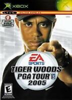 Tiger Woods PGA Tour 2005 - Xbox - Manual included