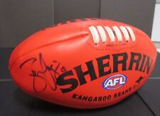 West Coast Eagles - Ben Cousins signed (full autograph) red synthetic sherrin