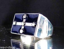 Sterling Silver .925 Eureka Stockade Ring RG0215/S/E
