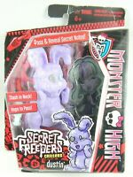 Monster High Secret Creepers Critters  Dustin the Rabbit toy New