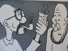 Newspaper Comic Vintage Art Cartoon Rocket Alley Jim Harrigan Funny