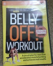 Men's Health The Belly Off Workout Strength Circuit Fitness Exercise DVD Abs New