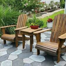 Cedar Adirondack chair, the most comfortable chair.
