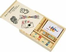 Wooden Dominoes Dice Modern Board & Traditional Games