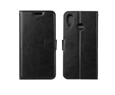 PU Leather Book Case Style Wallet Cover With Stand For Huawei P20 PRO