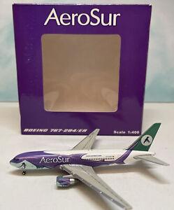 JC Wings 1:400 Aerosur 767-200 CP-2659 Sharko Boeing B767-200 Bolivia