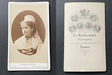 Reutlinger, Paris, Blanche Baretta, actrice, en costume de soubrette ou paysanne