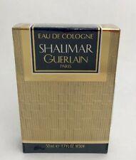 GUERLAIN PARIS SHALIMAR EAU DE COLOGNE No. 304 GOLD BOX 1.7 FL.OZ. 50 ML. SEALED