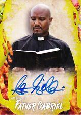 Walking Dead Survival Box Autograph Card Seth Gilliam As Father Gabriel 69/99