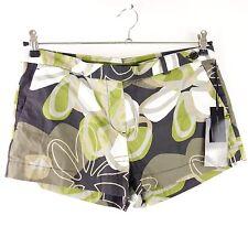 CINQUE Shorts Hot Pants EPPEN Gr 38 Grün Muster Schurwolle NP 79,- NEU
