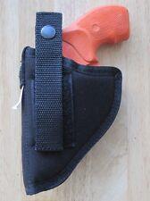 "Ambidextrous Belt Holster for CHARTER ARMS 2"" 5 shot 38 Revolver"