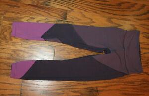 Preowned Lululemon Womens Wunder Under Full Length yoga Pants Size 4 Purple