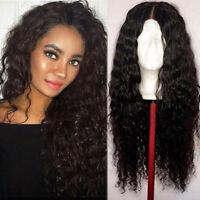 360 Lace Frontal Glueless 100% Virgin Brazilian Human Hair Wig Pre Plucked Black