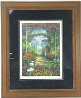 Arthur Byrne Signed Limited Serigraph Country House 7 Signed Framed 131/145 COA