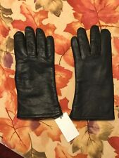 Men's Winter Leather Gloves; Size 7 New with Tags