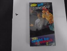 YOU MIGHT BE A REDNECK IF...JEFF FOXWORTHY VHS NEW