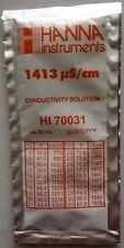 EC Buffer Solution / Calibration Hanna 1413 µS/cm 20ml (HI 70031)