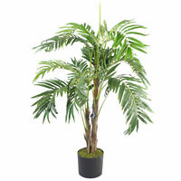 120cm Premium Artificiel Palmier avec Pot LEAF-7297