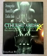 CTHULHU ABIDES A Role Playing Game of Investigation and madness lovecraftian