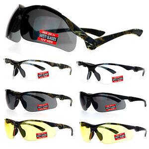 SA106 Mens Flip Up ANSI Z87.1+ Protection Half Rim Shatterproof Safety Glasses
