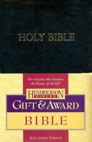 Gift and Award Bible-KJV 2006 Edition - Black Leather - Brand New (Unsealed)