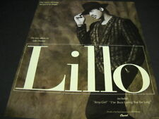 LILLO THOMAS This Much Charisma Has Got To Be Illegal 1987 PROMO POSTER AD mint