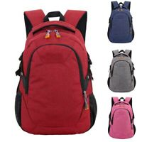 EG_ Unisex Waterproof Student Shoulder Bag Outdoor Sports Travel Backpack Mystic