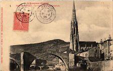 CPA St-Afrique - Le Vieux Pont et la Cathedrale (475396)