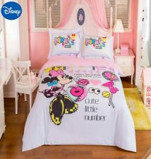 Minnie Mouse Cute Little Number 100% Cotton Twin Full Queen Comforter Set