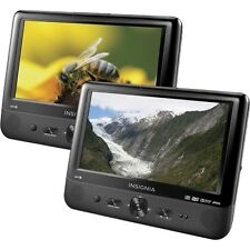 "Insignia 9"" Dual Screen Portable Lcd Dvd Player Ns-Ds9Pdvd15 New Other"