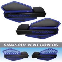 2006-2016 Yamaha Raptor 700 Powermadd Star Handguard System - Blue/black 34204