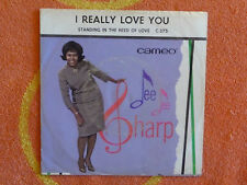 DEE DEE SHARP I Really Love You 45 rpm PICTURE SLEEVE ONLY Cameo 1965 SOUL