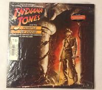 John Williams - Indiana Jones And The Temple Of Doom Soundtrack LP Record NICE!!