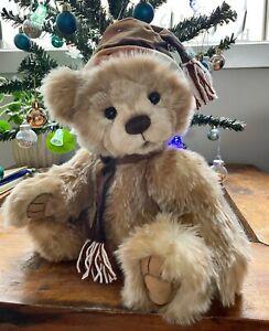 Charlie Bears Anniversary Santa Paws