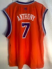 68427d6d6 Adidas NBA Jersey New York Knicks Carmelo Anthony Orange sz XL