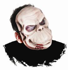 Morbid Chimp Scary Killer Ape Plastic Monkey Face Mask