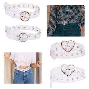 Transparent Belt Waistband Ladies Buckle Design Clear Waist Belts Women Girls