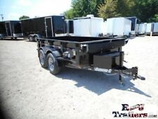5 x 10 10ft Dump Farm Small Construction Sand Gravel Utility Cargo Trailer DFW