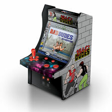 MY ARCADE Data East Bad Dudes Micro Arcade Machine Portable Handheld Video Game