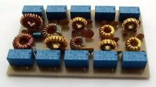 5 band 100W rated Low Pass Filter PCB Kit, developed by G4CFY in Dorset UK.