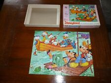 SCARCE DISNEY 1970's Mini Disneyland  UK  Jigsaw Puzzle  100 piece COMPLETE # 5