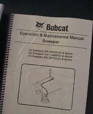 Bobcat Skid Steer SWEEPER 54 60 72 Operation & Maintenance Manual revised 2014