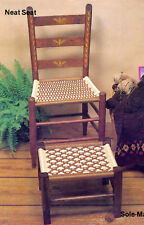 Vintage 1986 The 2nd Furniture Fan-Fare Macrame CORD Weave Chair Pattern Book