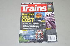 Trains Magazine railroad 2008 January steam passenger power, transcon map, PS-4