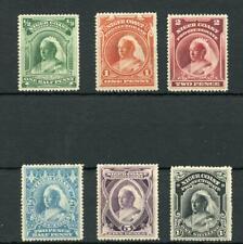 Niger Coast 1894 set SG51/56 fine MLH