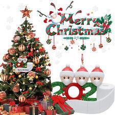 Christmas Ornament Quarantine 2020 Mask Toilet Paper XMAS Family Personalized