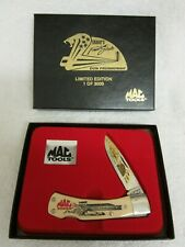 Mac Tools Limited Edition Schrade Pocket Knife Don Prudhomme NIB   (D20)