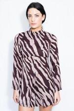WOMEN'S NEW TOPSHOP HIGH NECK PLAYSUIT SIZE UK 8 (US 4, EU 36) DRESS - RRP £25